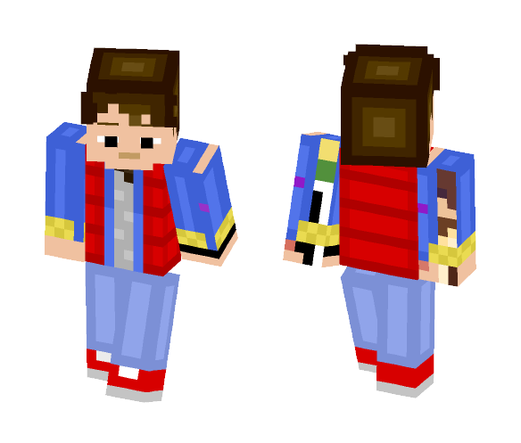 Marty McFly - Male Minecraft Skins - image 1
