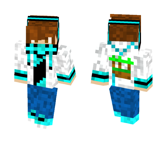 Cool Guy Hoodie - Male Minecraft Skins - image 1