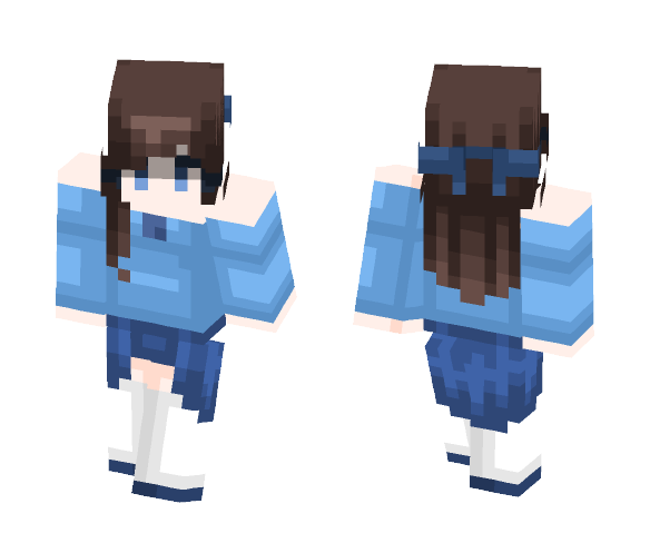 Skin trade with _Kyoko_Kirigiri_ - Female Minecraft Skins - image 1