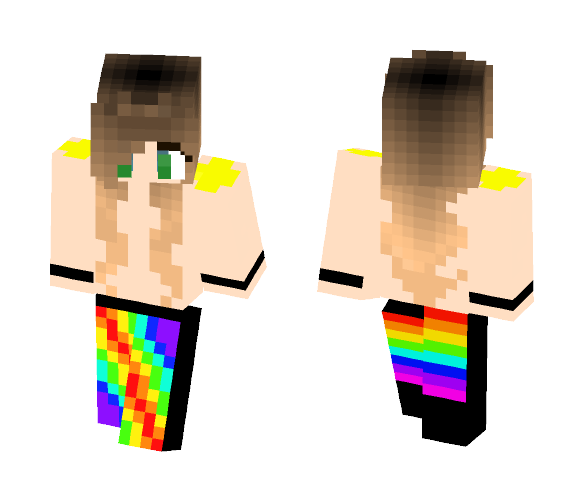 Pride Girl - Girl Minecraft Skins - image 1