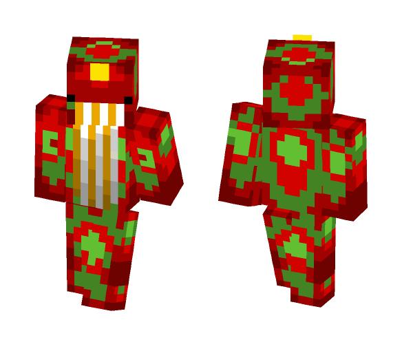 Christmas Whale - Christmas Minecraft Skins - image 1