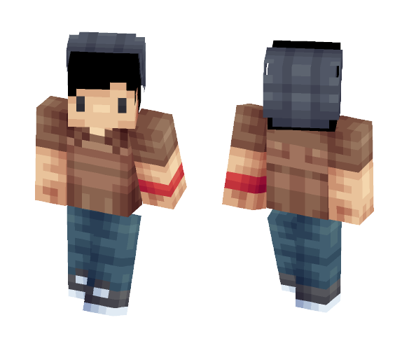 Jerome The Hipster - Male Minecraft Skins - image 1