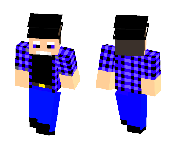 Mark hamill in a cowboy hat - Male Minecraft Skins - image 1