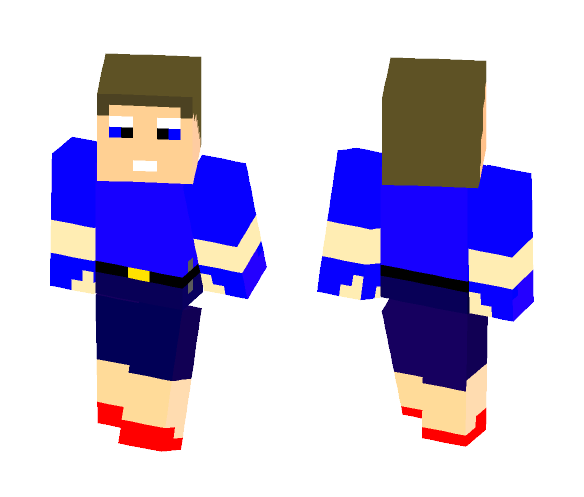 Download Sume guy in slippers Minecraft Skin for Free