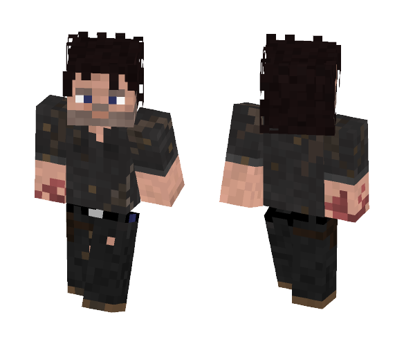 Rick Grimes | The Walking Dead 710 - Male Minecraft Skins - image 1