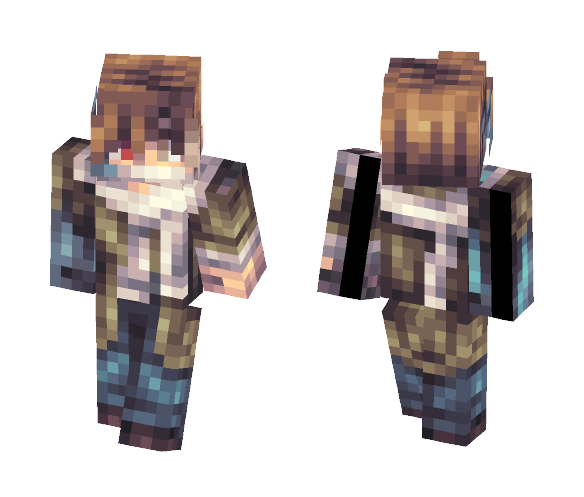 Ouma Shu [Guilty Crown] - Male Minecraft Skins - image 1