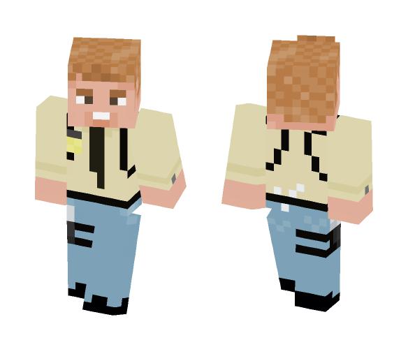 Irish Detective - Male Minecraft Skins - image 1