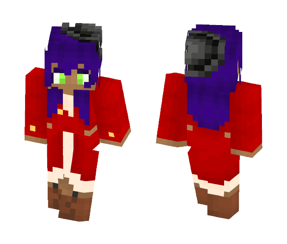 Red Pirate - Female Minecraft Skins - image 1