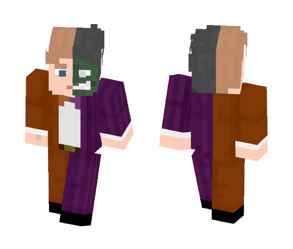 Download Harvey Dent / Two Face Minecraft Skin for Free ...