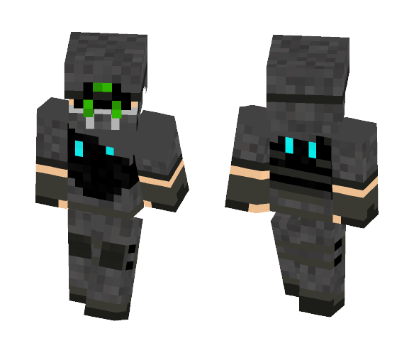 Ghost Operator - OFT - Interchangeable Minecraft Skins - image 1