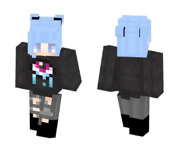 Edgy Teenager - Female Minecraft Skins - image 1