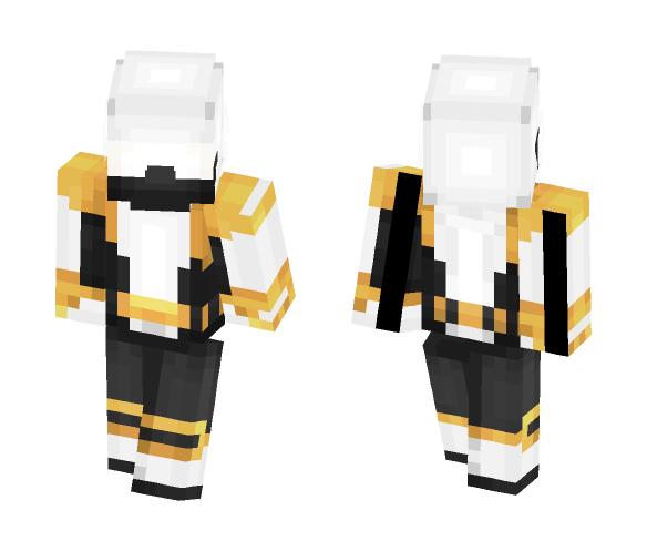 The Legendary White Ninja [OC] - Male Minecraft Skins - image 1
