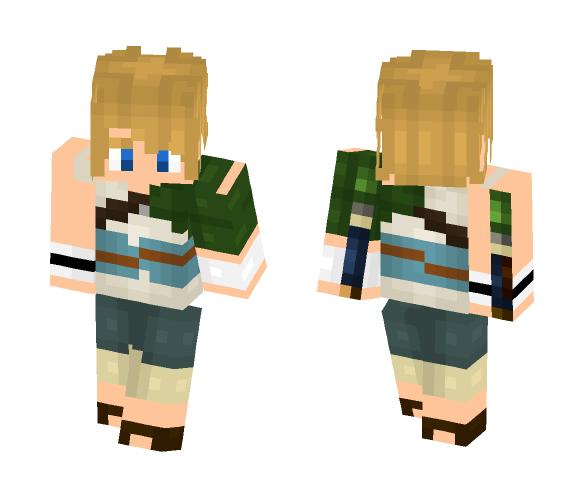 Beginner Link (Twilight Princess) - Male Minecraft Skins - image 1
