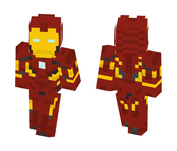 Iron Man mk46 - Iron Man Minecraft Skins - image 1