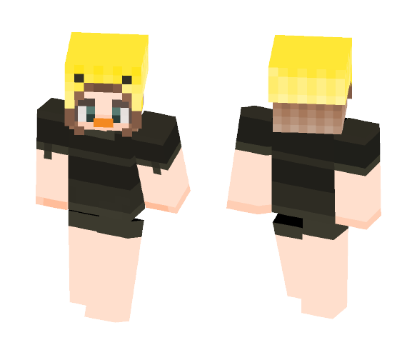 duck hats // unfinished ? - Female Minecraft Skins - image 1