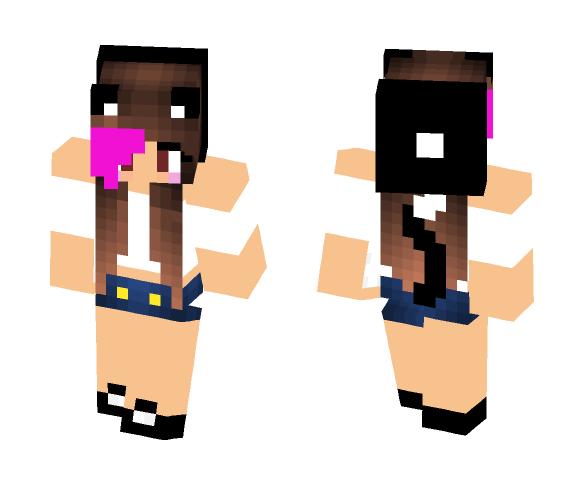 I has kitty skin - Female Minecraft Skins - image 1