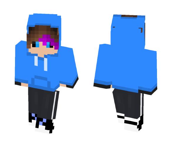 Phantom Dancetale Sans - Male Minecraft Skins - image 1