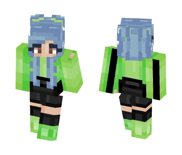 worst skin ive ever made fml - Female Minecraft Skins - image 1