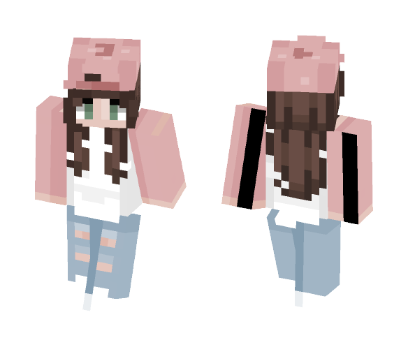 Download I Tried To Do Long Curly Hair Minecraft Skin For Free Superminecraftskins