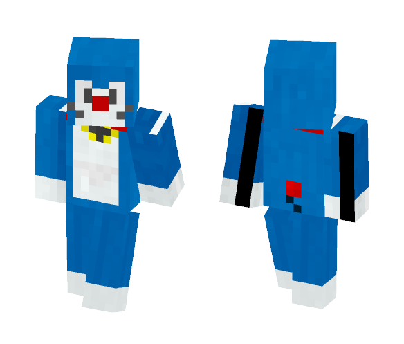 Doraemon - Male Minecraft Skins - image 1