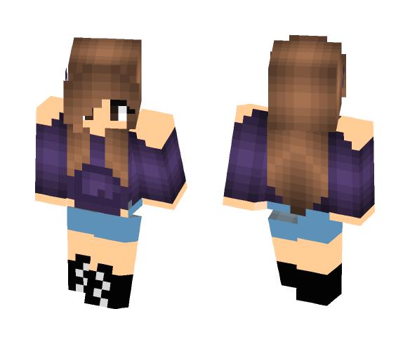 Hot Teenager - Female Minecraft Skins - image 1