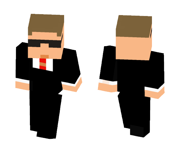 Agent smith from the Matrix trilogy - Male Minecraft Skins - image 1