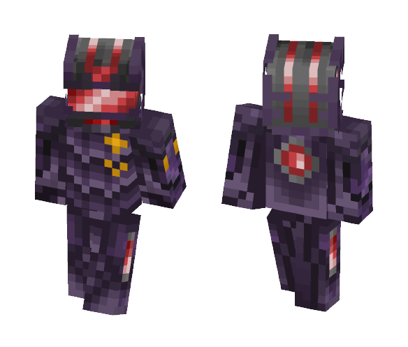 Download Mech Warrior (Old) Minecraft Skin for Free