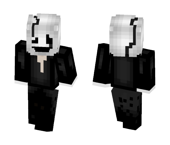 W.D Gaster - Core - Male Minecraft Skins - image 1