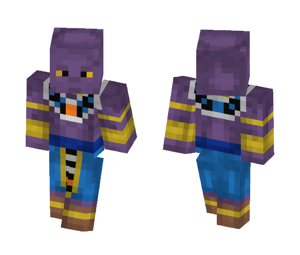 Download Lord Beerus Dragon Ball Super Minecraft Skin For Free