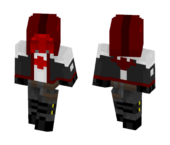 Red Hood (Skin Remake) - Male Minecraft Skins - image 1