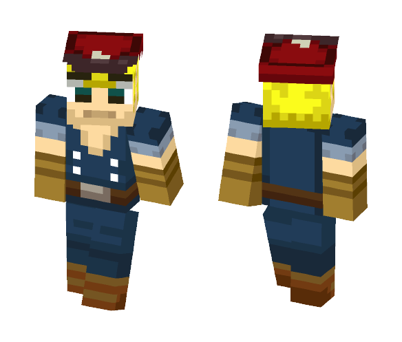 Spirit Tracks Link - Male Minecraft Skins - image 1