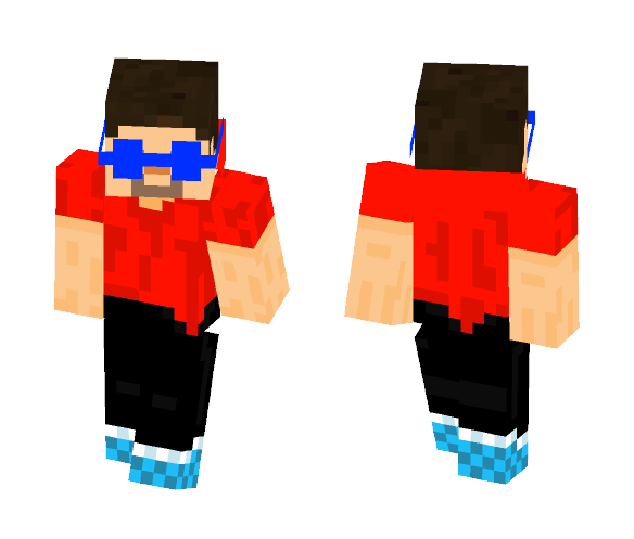 Trendy Steve - Male Minecraft Skins - image 1