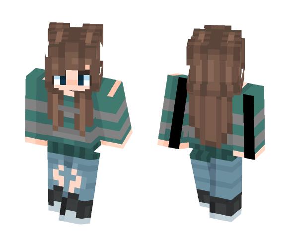 My friend caitlyn o3o - Female Minecraft Skins - image 1