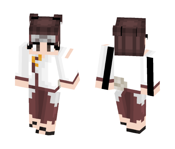 TenTen From Naruto - Female Minecraft Skins - image 1