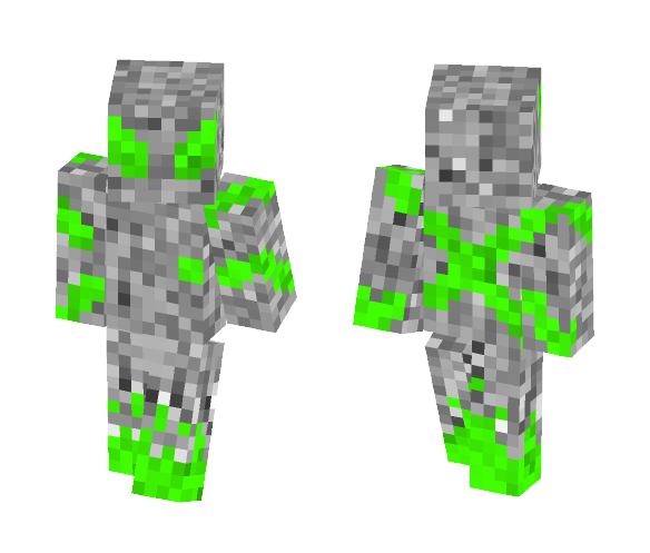 Infected Alien - Male Minecraft Skins - image 1