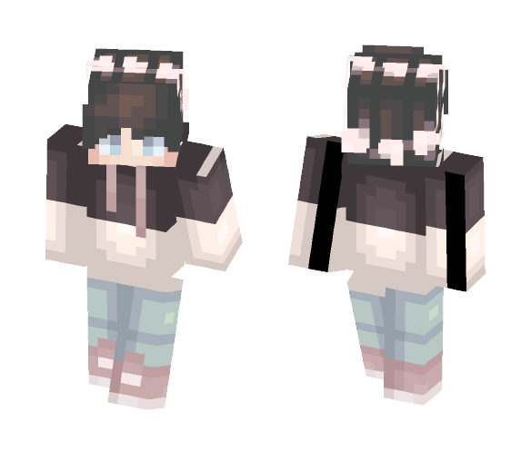 pale flowers - Male Minecraft Skins - image 1