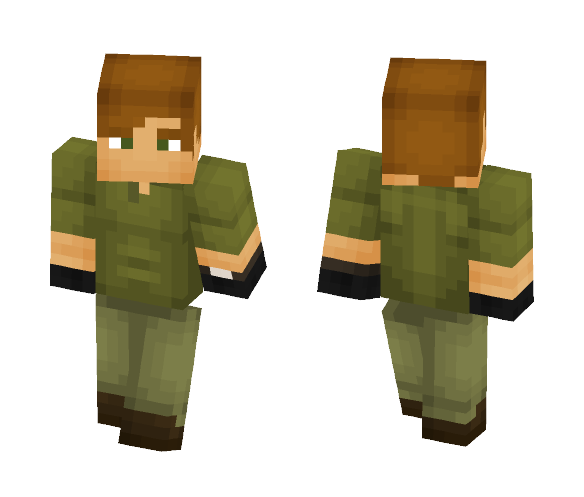 Dexter Morgan - Kill outfit - Male Minecraft Skins - image 1