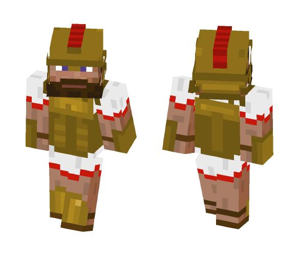 Greek warrior (request) - Male Minecraft Skins - image 1