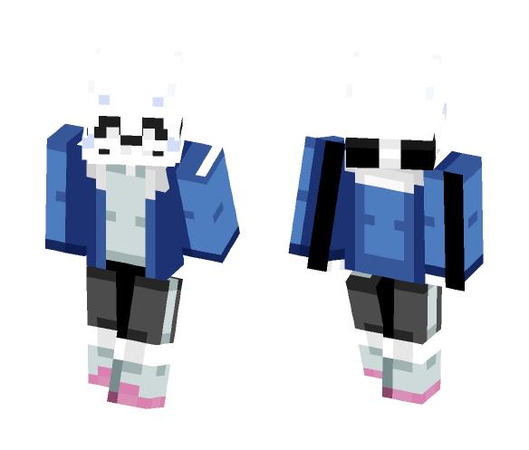 Undertale Sans (Remaster) -w- - Male Minecraft Skins - image 1