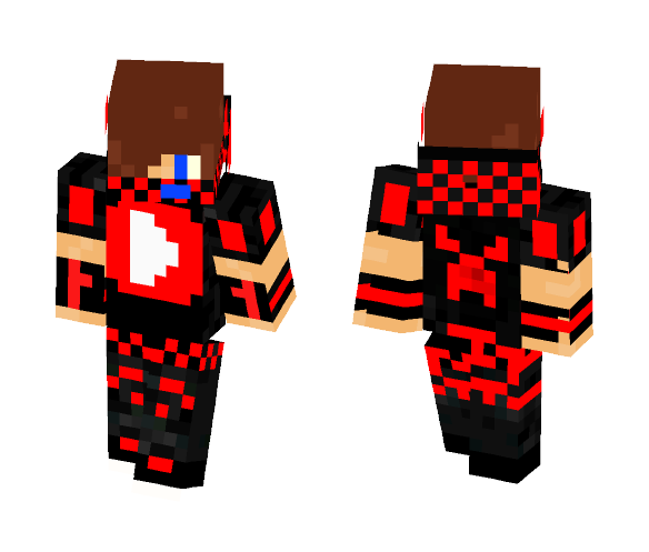 youtuber red - Male Minecraft Skins - image 1