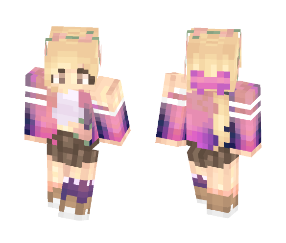 flowers    st - Female Minecraft Skins - image 1