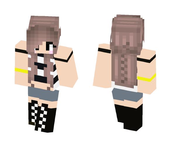 Savage Girl - Girl Minecraft Skins - image 1