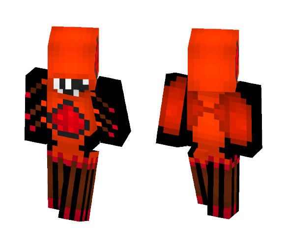 Redstone infected / Alien Fly - Interchangeable Minecraft Skins - image 1