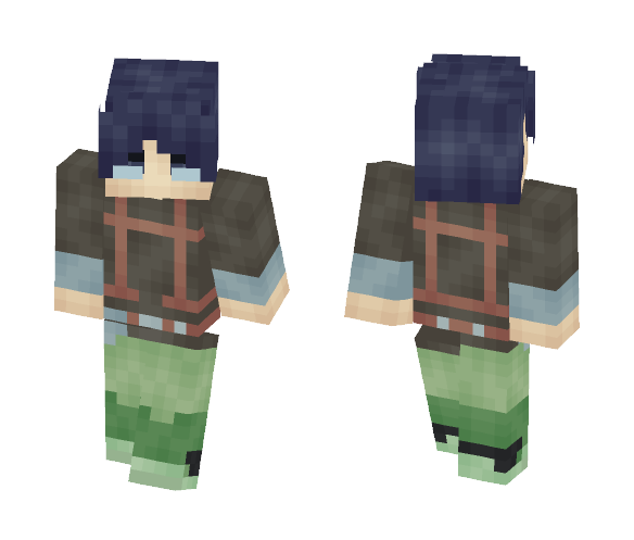 Log Horizon - Shiroe (No Cloak) - Male Minecraft Skins - image 1