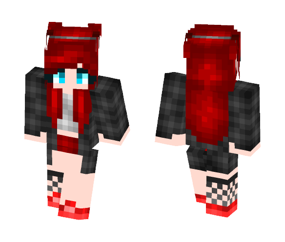 2bf546edcd185 Download Devil Girl Minecraft Skin for Free. SuperMinecraftSkins