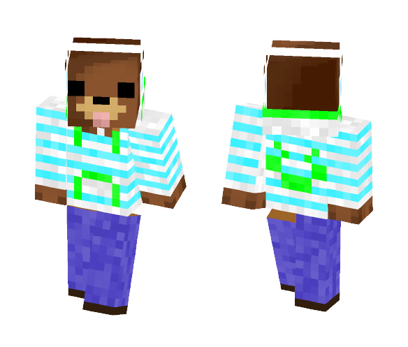 bear casual clothes - Other Minecraft Skins - image 1