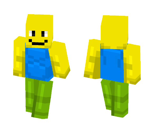 Download Gaming Skins Roblox Noob Minecraft Skin For Free
