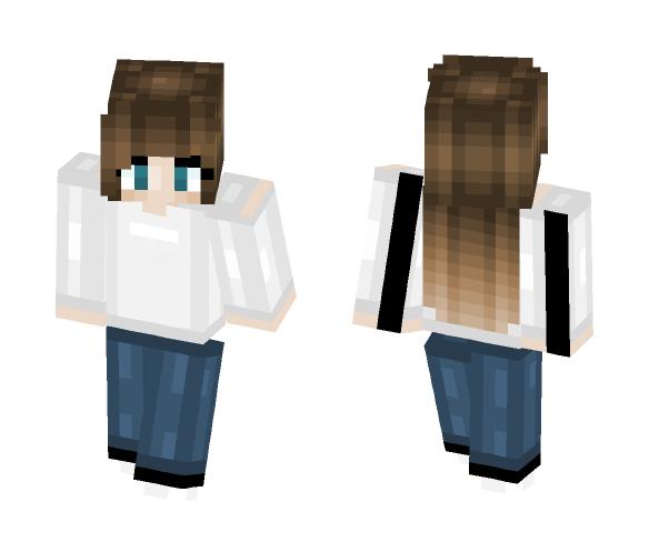 Simple // bagged_milk - Female Minecraft Skins - image 1