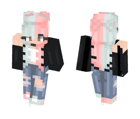 x Cotton Candy x - Female Minecraft Skins - image 1