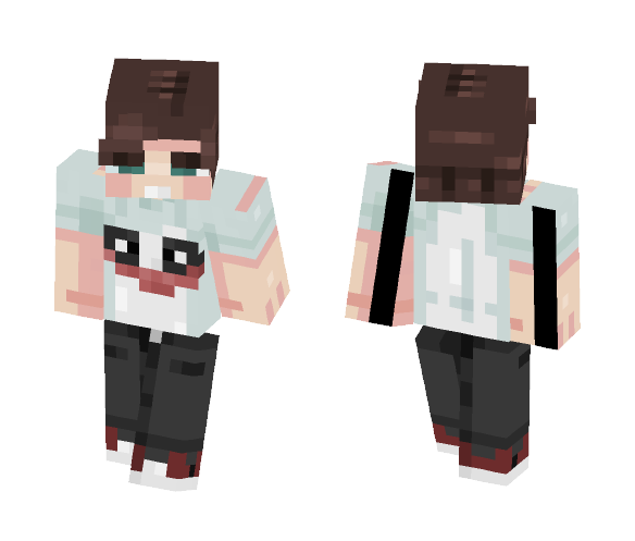Why is this shirt so SERIOUS? - Male Minecraft Skins - image 1
